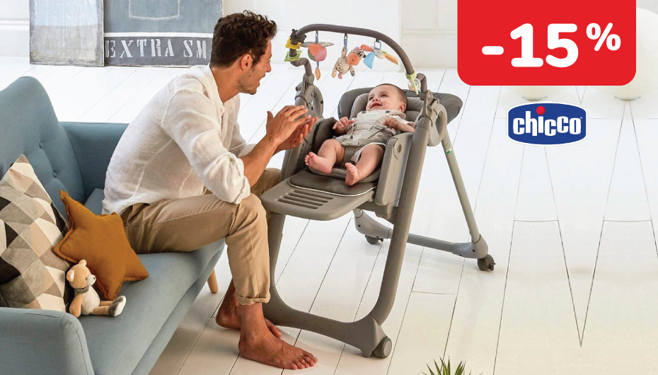 -15 % na Chicco Polly Magic Relax